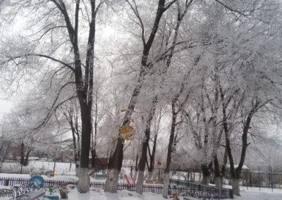 Снежные узоры